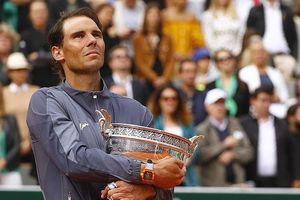 Nadal làm điều chưa từng có trong lịch sử quần vợt