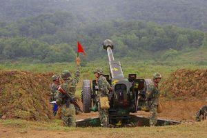 Pháo binh Quân đoàn 1 cơ động giỏi, chiến đấu giỏi