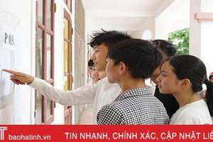 Hà Tĩnh công bố điểm thi vào lớp 10 THPT