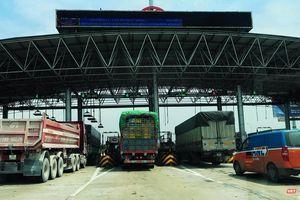 Ngày 10/6, trạm thu phí BOT Pháp Vân - Cầu Giẽ vẫn hoạt động bình thường