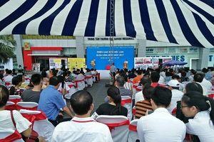 Trung tâm DVVL Hà Nội tổ chức phiên giao dịch việc làm lưu động quận Long Biên năm 2019