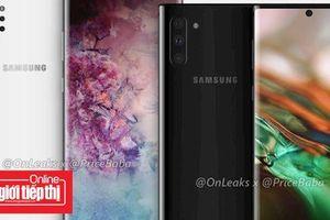 Bố cục camera mới trên Samsung Galaxy Note 10