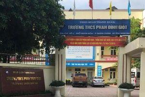 Quận Thanh Xuân, Hà Nội: Học sinh cuối cấp hoang mang trước thông tin chuyển trường