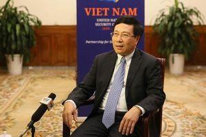 Phó Thủ tướng Phạm Bình Minh: Việt Nam sẽ nỗ lực tạo đồng thuận cao nhất trong HĐBA