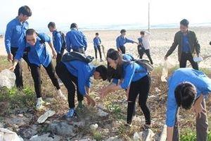 Gần 2.000 người tham gia dọn vệ sinh bãi biển Đà Nẵng