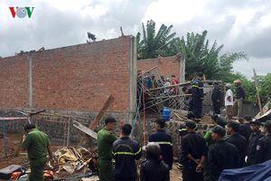 Sập giàn giáo ở Gia Lai làm 1 người chết, 12 người thoát nạn