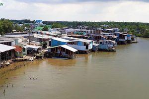 Sạt lở đất làm sập nhiều nhà dân ở Cà Mau, thiệt hại hơn 1,2 tỷ đồng