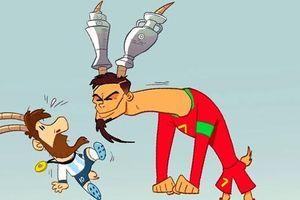 Biếm họa 24h: Vô địch Nations League, Ronaldo 'vênh váo' với Messi