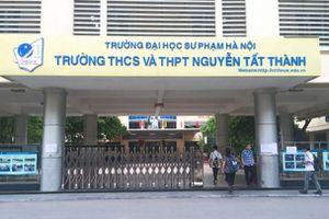 Điểm chuẩn vào lớp 6 Trường THCS và THPT Nguyễn Tất Thành, Hà Nội năm 2019