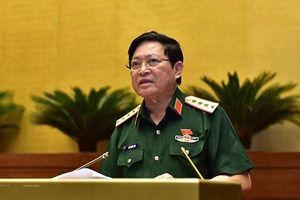 Đại tướng Ngô Xuân Lịch: Tên gọi Luật lực lượng dự bị động viên không có vướng mắc gì