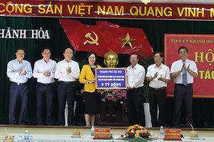 Hà Nội – Khánh Hòa: Hỗ trợ lẫn nhau để tạo thêm nguồn lực cho phát triển