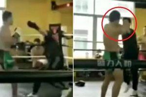 Cao thủ Thiếu Lâm dùng độc chiêu ám toán võ sĩ MMA