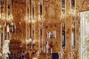 Tìm ra lối vào phòng hổ phách dát vàng 300 triệu USD của Hitler?