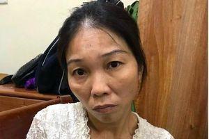 Bắt giữ nữ quái chuyên móc túi ở bến xe buýt Hà Nội