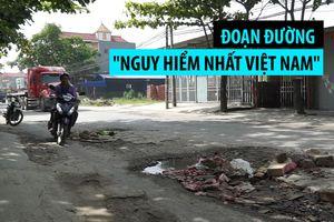 Những ổ voi khổng lồ trên đoạn đường 'nguy hiểm nhất Việt Nam'