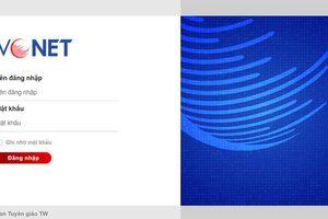 Ban Tuyên giáo Trung ương triển khai hệ thống thông tin điện tử mới