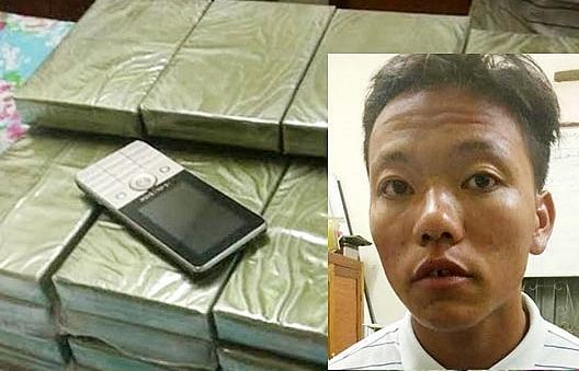 Bắt đối tượng vận chuyển 30 bánh heroin vào Việt Nam