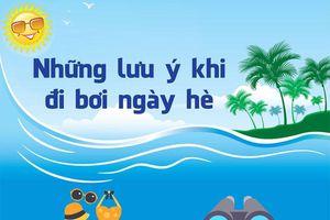 Lưu ý vàng khi bơi lội trong ngày hè nắng nóng