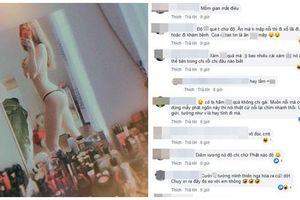 Linh Chi bị dân mạng mắng xối xả khi đăng ảnh khỏa thân kèm phát ngôn: 'Tôi đẹp vì Phật độ tôi không độ các bạn'