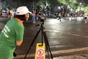 Hà Nội: Bao nhiêu người ghi hình phạt nguội xả rác bừa bãi?