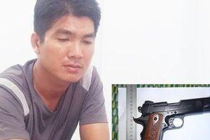 Mang súng đi cướp của cụ ông 70 tuổi để lấy tiền trả nợ thua bạc