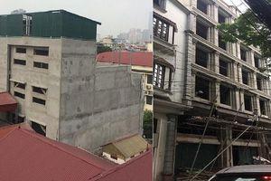 Hà Nội: Bùng phát nhà sai phép kiểu mới