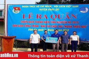 Huyện đoàn Vĩnh Lộc ra quân tình nguyện hè năm 2019