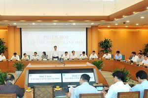 Xem xét, quyết định một số nội dung trình kỳ họp giữa năm HĐND TP Hà Nội