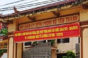 Khởi tố thêm 5 cán bộ tại BQL rừng phòng hộ huyện Yên Thành
