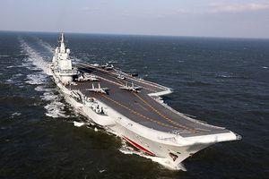 Nhật Bản phát hiện tàu sân bay Trung Quốc áp sát lãnh thổ