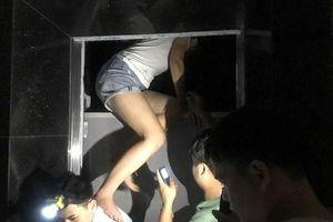 Giải cứu kịp thời nhiều người mắc kẹt trong thang máy