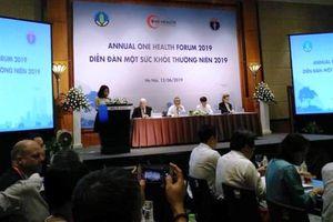 Cơ hội triển khai Diễn đàn 'Một sức khỏe thường niên 2019'