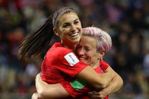 Tuyển nữ Thái Lan làm nền cho tiền đạo đội Mỹ đi vào lịch sử World Cup