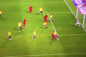Lukaku bỏ lỡ hài hước ở vòng loại Euro 2020