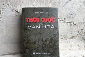 Nhà báo Hồ Quang Lợi ra mắt sách 'Thời cuộc và văn hóa'