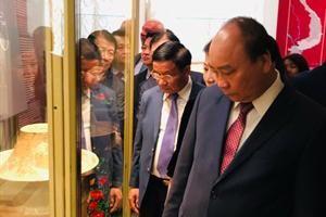 Chuyến 'chu du' của cổ vật Việt trên đất Nga