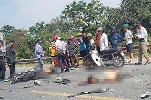 2 thanh niên đi xe máy tử vong do va chạm với xe tải