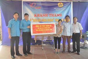 Bắc Giang: Hỗ trợ xây 'Mái ấm CĐ' cho đoàn viên có hoàn cảnh khó khăn