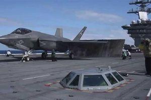 Mỹ sửa tàu sân bay để F-35C có thể hoạt động