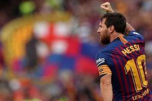 Messi là vận động viên thể thao có thu nhập cao nhất thế giới