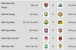 Lịch thi đấu vòng 11 Giải Hạng nhất Quốc gia LS 2019 (ngày 16-6)
