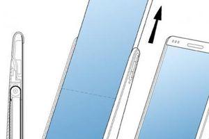 Lộ bằng sáng chế cho thấy Samsung đang phát triển smartphone màn hình cuộn