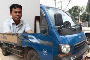 Bắt nghi phạm dùng xe tải trộm 30 máy trộn bê tông