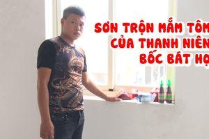 'Đặc sản' sơn trộn mắm tôm của thanh niên cho vay tiền góp ở Vĩnh Long