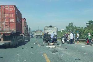 Ô tô và xe máy đấu đầu, 2 thanh niên tử vong tại chỗ