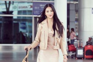 Hoa hậu Phương Khánh lên đường chấm Miss Earth Singapore 2019
