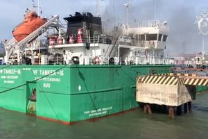 Nổ tàu chở dầu ở Nga, 3 người chết