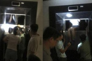 Chung cư Mỹ Sơn Tower mất điện, nhiều người bị 'nhốt' trong thang máy