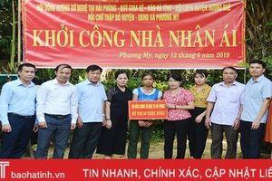 Báo Hà Tĩnh phối hợp xây nhà cho phụ nữ đơn thân ở Hương Khê