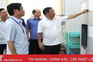 Thực hiện nghiêm nội dung, quy chế Kỳ thi THPT quốc gia tại Hà Tĩnh